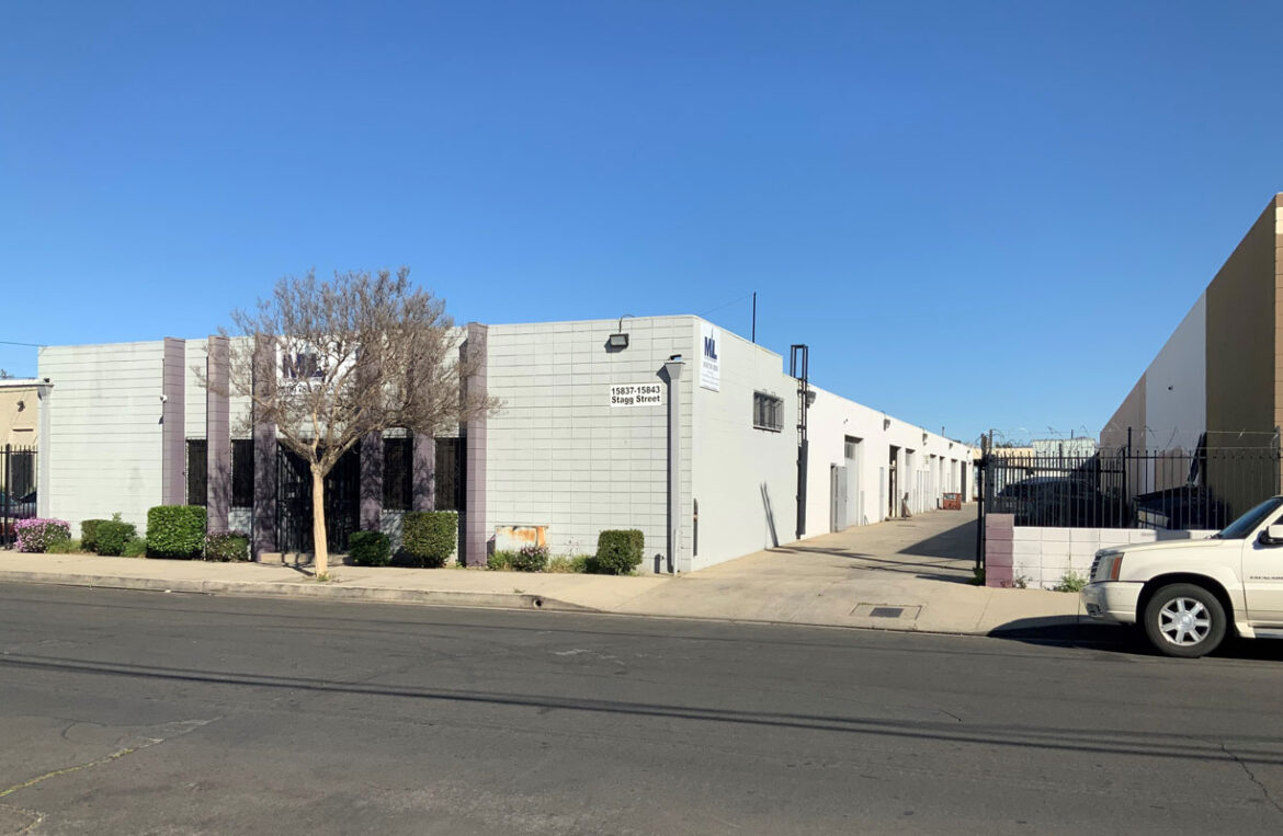 15837 Stagg Street in Van Nuys - Industrial Facility in Van Nuys CA