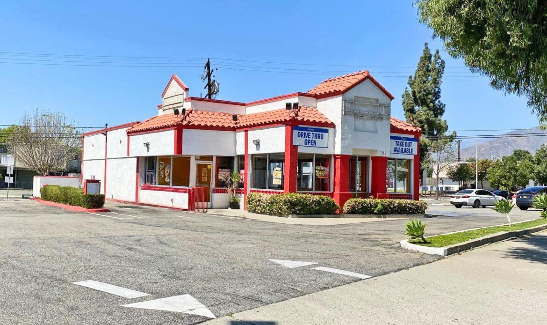 Drive-Thru Restaurant Property in Azusa
